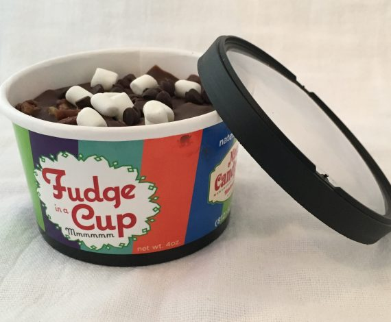 Rocky Road Fudge In A Cup